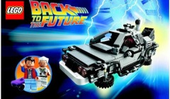 Back to the Future, Delorean, Lego