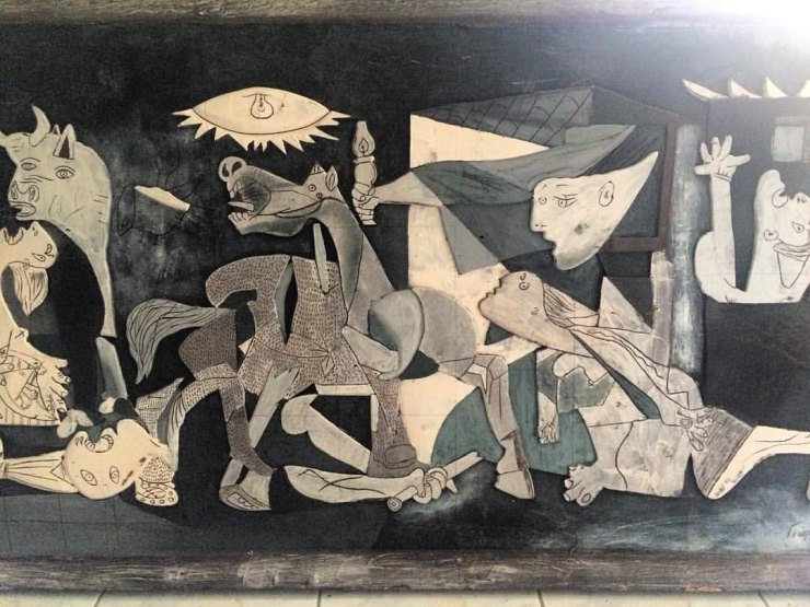 Guernica από σοκολάτα
