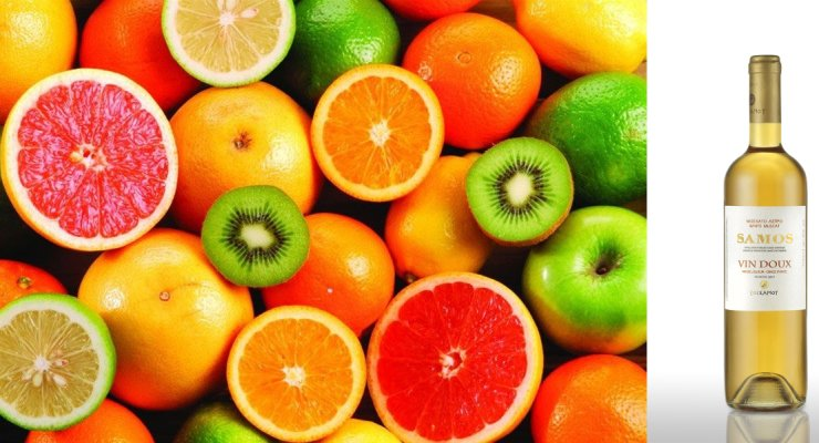 Κρασί που συνοδεύει καλά φρούτα