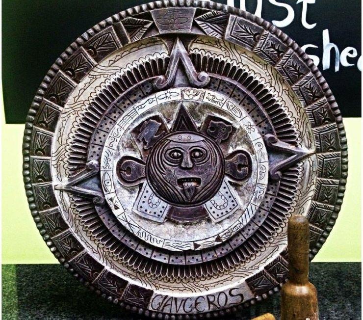 Το ημερολόγιο των Αζτέκων από σοκολάτα