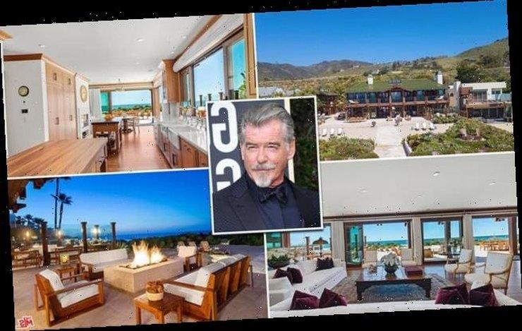 Η έπαυλη του Pierce Brosnan στο Malibu