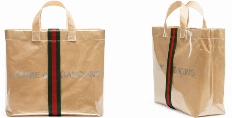 7983b24c4a Ευχάριστη fashion έκπληξη  Gucci και Comme des Garçons μαζί σε μία ...