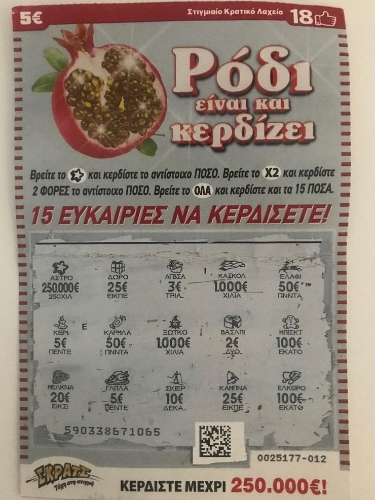 e148eb79b7 Μεγάλα χριστουγεννιάτικα κέρδη σε Λάρισα και Γιαννιτσά με το Σκρατς ...