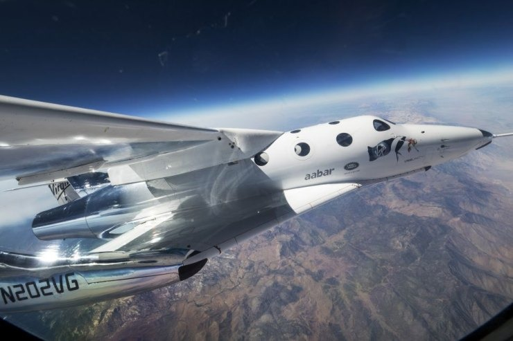 SpaceShip Two VSS Unity