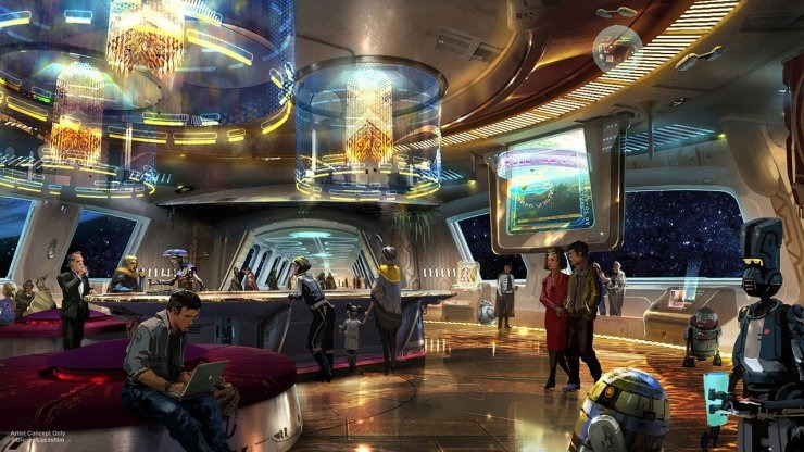 """Star Wars: Galactic Cruiser Hotel"
