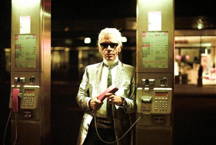 Karl Lagerfeld in Berlin
