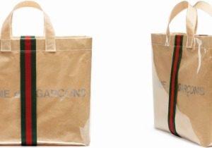 Gucci - Comme des Garçons shopper