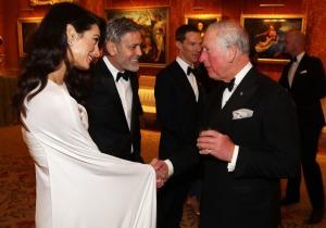 Clooneys & Πρίγκιπας Κάρολος