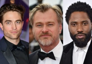 Robert Pattinson, John David Washington, Christopher Nolan