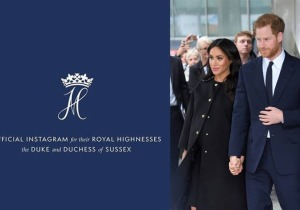 Meghan, Harry, Instagram