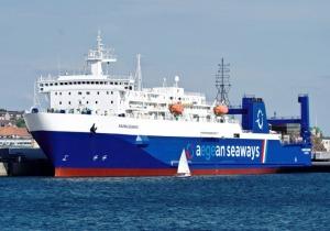Aegean Seaways, Τσεσμέ - Λαύριο