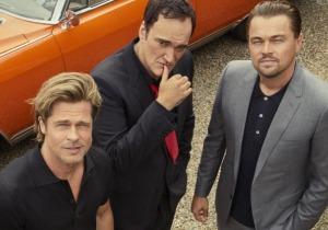 Leonardo DiCaprio, Brad Pitt, Quentin Tarantino