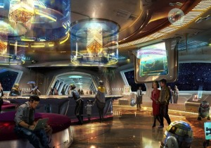 """Star Wars: Galactic Cruiser Hotel"
