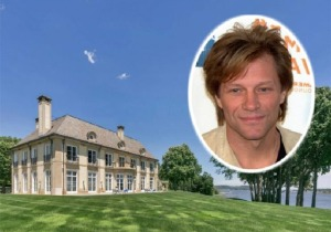 Ο Jon Bon Jovi πουλάει την έπαυλή του στο Νιου Τζέρσεϊ