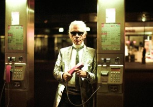 Karl Lagerfeld in Berlin
