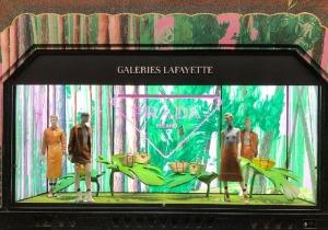 Prada, Hyper Leaves, Galeries Lafayette