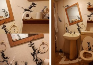 Banksy, μπάνιο