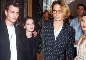 Vanessa Paradis και Winona Ryder στηρίζουν Johnny Depp