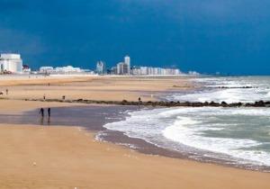 Βέλγιο, παραλία Οστάνδης