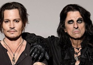 Johnny Depp, Alice Cooper