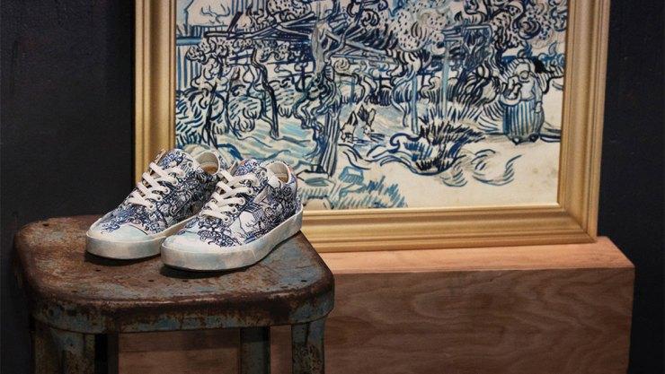 c6a55beed4 Αριστουργήματα του Van Gogh σε... sneakers
